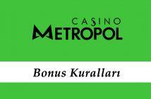 Casinometropol Bonus Kuralları